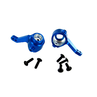Aluminum Front Steering Knuckle (1pr)(Blue)