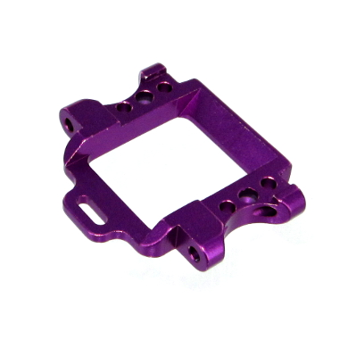 Aluminum Front Suspension Arm Mount (Purple)