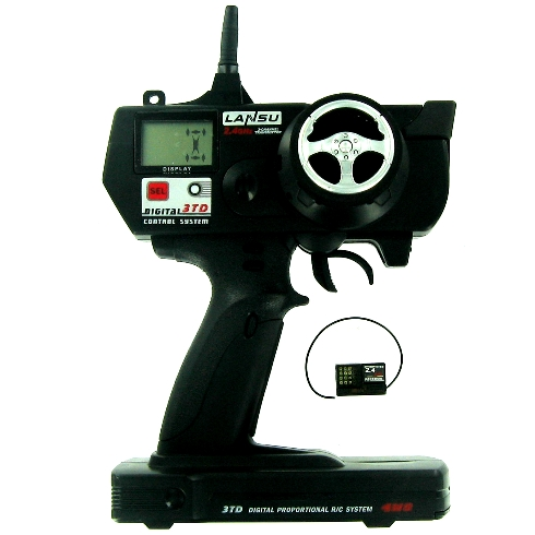 3 Channel 2.4GHz Radio with Receiver (Only compatible with E710 receiver)
