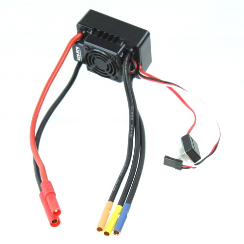 Brushless ESC (80A) with Banana connectors,W/waterproof For Terremoto 10 (single battery)