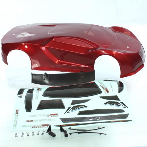 1/10 200mm Onroad Car Body Metallic Red