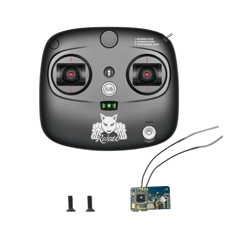 2.4Ghz Remote and Receiver with Screws (KM2*6mm 2pcs)