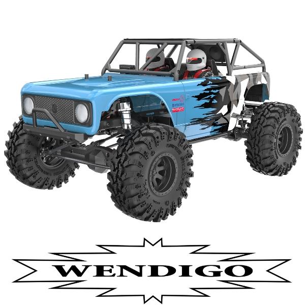 Wendigo 1/10 Scale Brushless Electric Rock Racer