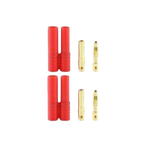 Banana 4.0 Plugs (Pack of 2, 1 male 1 female)