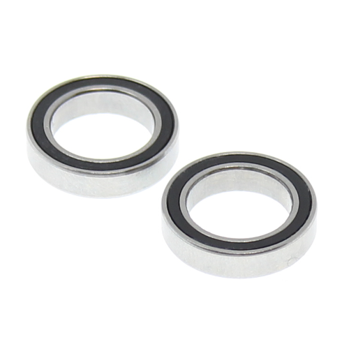 12*18*4mm Rubber Sealed Ball Bearings (2pcs)