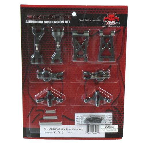 Aluminum Hop Up Kit for Blackout Series Vehicles (Front or Rear)