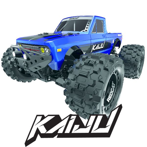 Kaiju Monster Truck 1/8 Scale Brushless Electric (Batteries & Charger NOT Included)