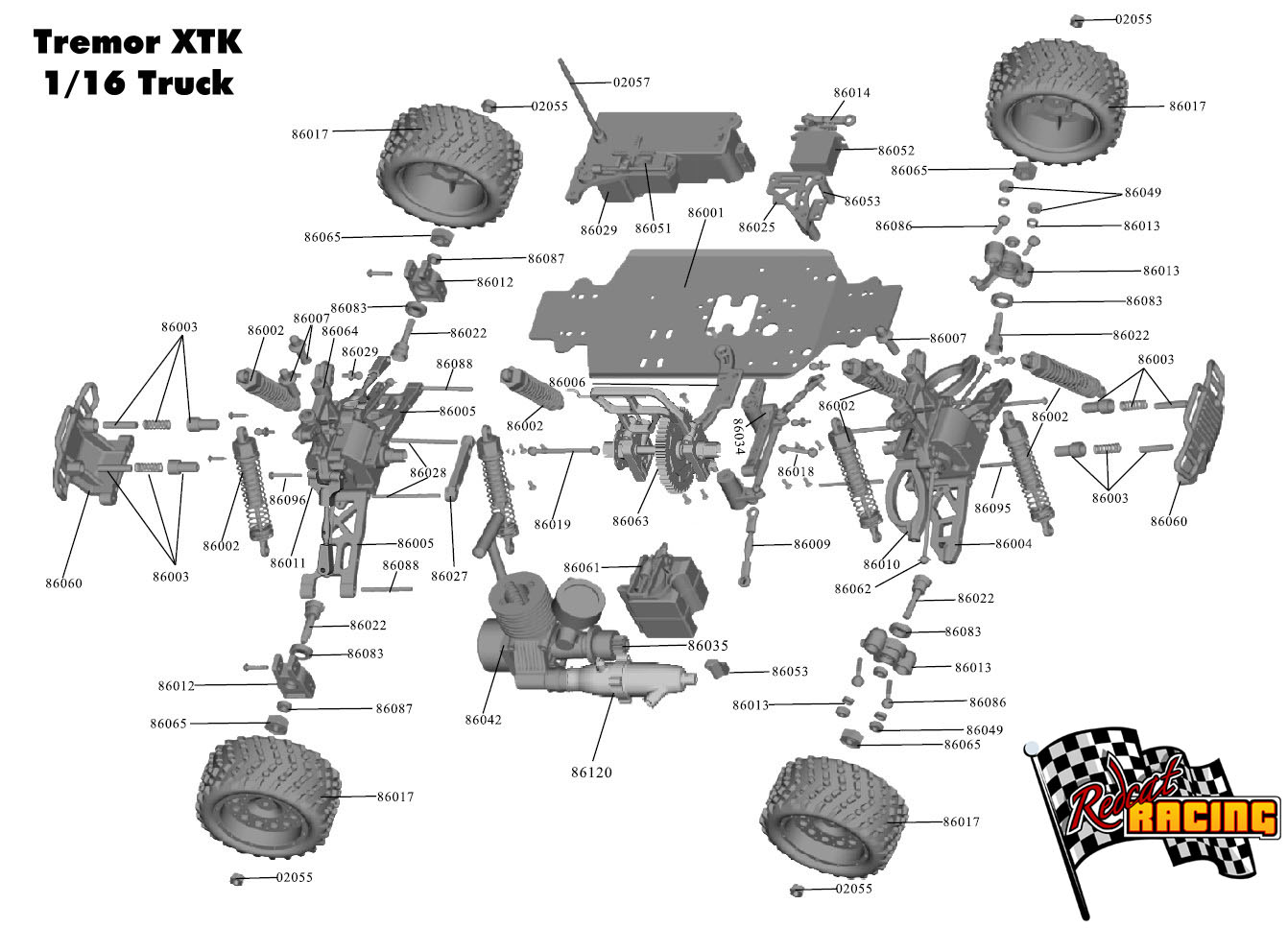 Diagram Of A Rc Car Parts Doing Wiring The New Way Gas Engine Redcat Racing Cars Rh Redcatracing Com Layout Club