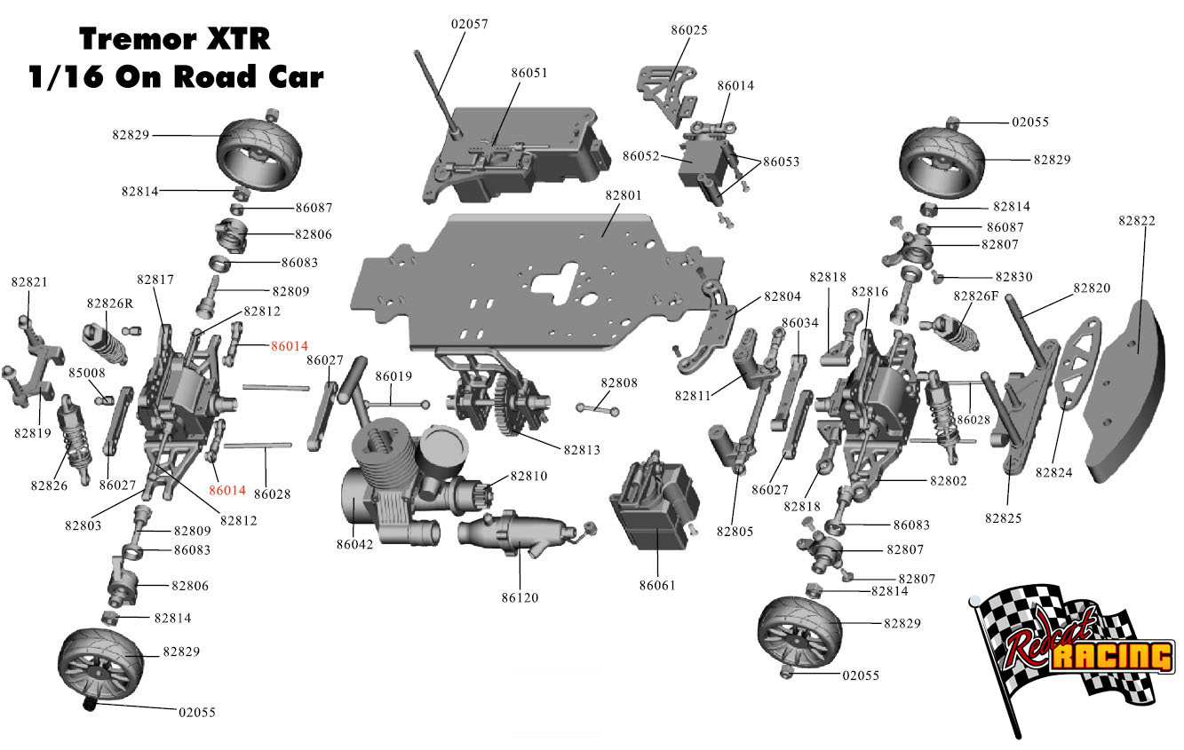 Redcat Racing Rc Cars Rc Car Parts