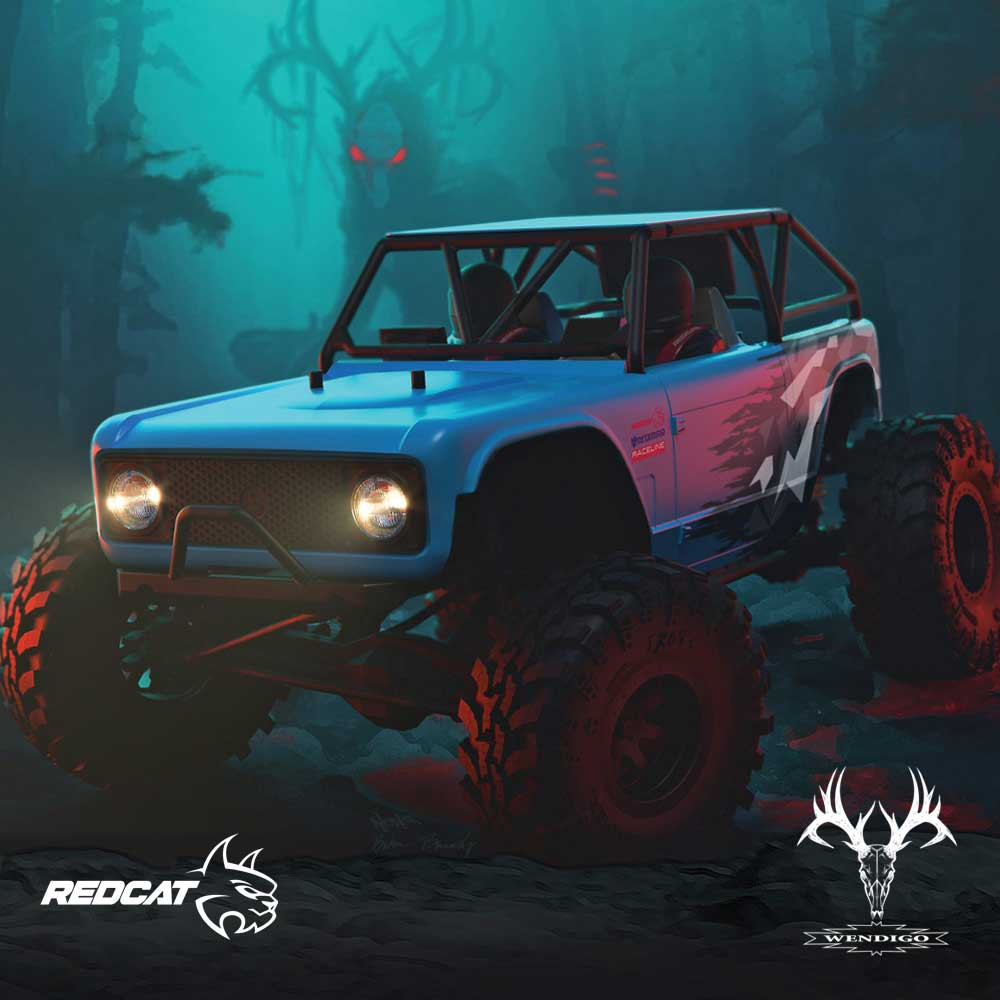 Wendigo 1/10 Scale Brushless Electric Rock Racer Image