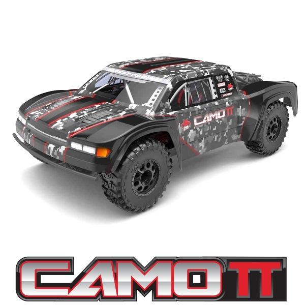 Camo TT Pro 1/10 Scale Electric Trophy Truck